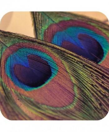 Baishitop Peacock Feather Silvery Earrings in Women's Drop & Dangle Earrings