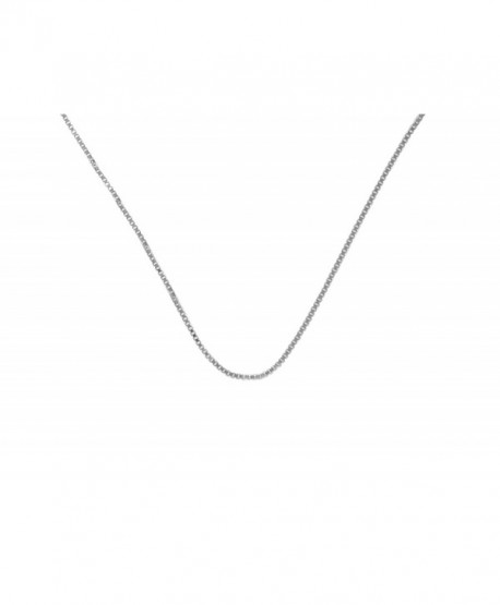 """Light Box Style Chain 213- Sterling Silver- Available in 16"""" 18"""" 20""""- $6 - $8 - C9110QPAG4F"""