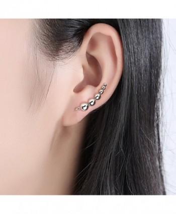 Climber Earrings WOSTU Sterling Silver