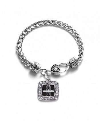 Awareness Classic Silver Crystal Bracelet