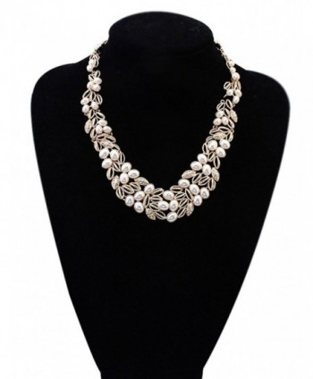 Wedding Bridal Statement Necklace Floral