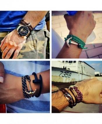 Adjustable Nautical Bracelets Twining Sailing