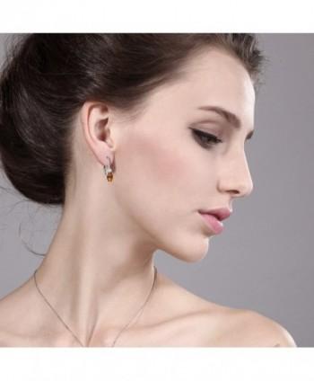 Ecstasy Sapphire Sterling Leverback Earrings