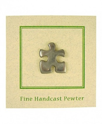 Puzzle Piece Lapel Pin Count in Women's Brooches & Pins
