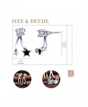 Infinite Sterling Zirconia Jackets Earrings