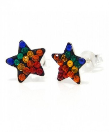 Pro Jewelry Sterling Multicolor Earrings - CX11JGE2MC7
