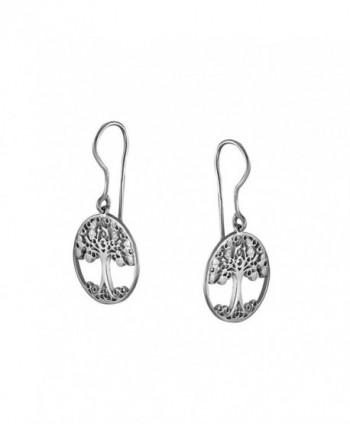 Handmade Sterling Silver Celtic Earrings