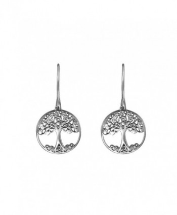 Handmade Sterling Silver Celtic Earrings in Women's Drop & Dangle Earrings