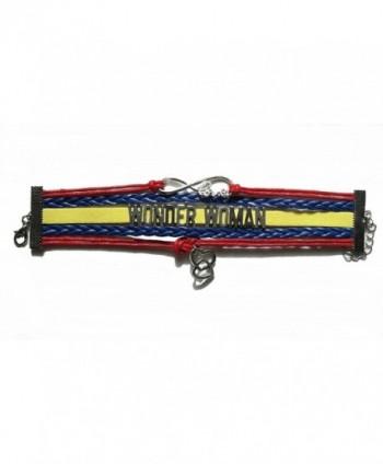 Infinity Braided Leather Adjustable Bracelet