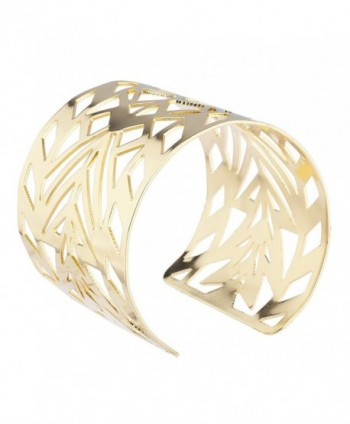 Lux Accessories Aztec Cutout Bracelet