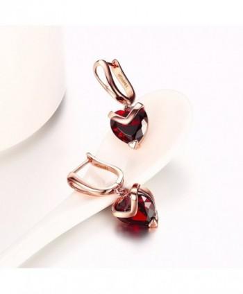 Yozone Shaped Inlaid Diamond Earrings in Women's Drop & Dangle Earrings