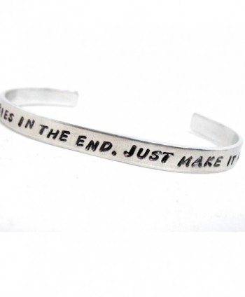 We're All Stories In the End... - Doctor Who Inspired Bracelet- a Foxwise Exclusive - CS110MZRRID