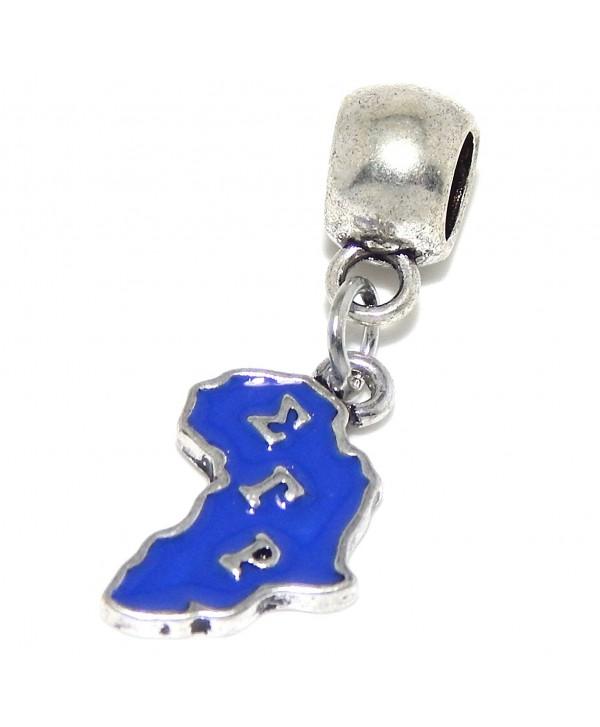 "Jewelry Monster Dangling ""Purple Africa/Sigma Gamma Rho"" Charm Bead - CW125UD6ZW5"