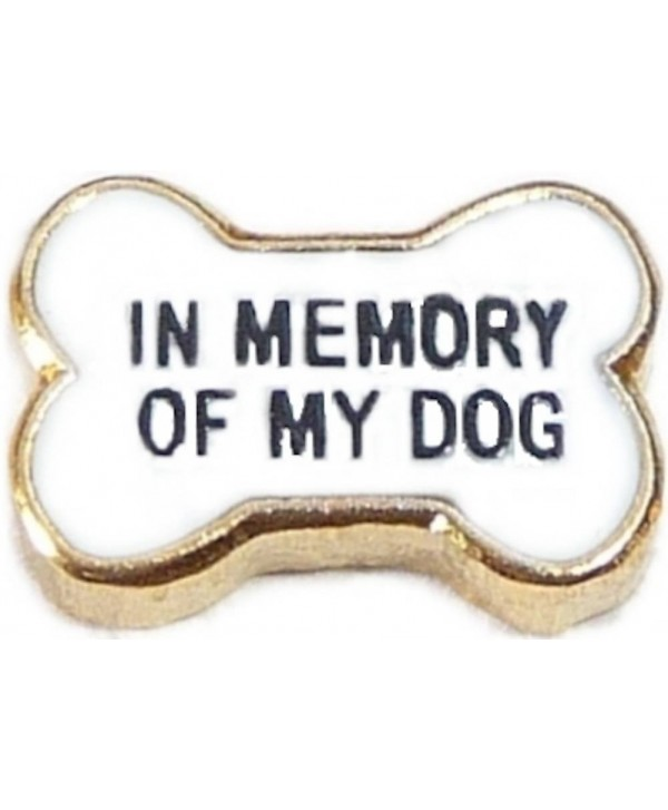 In Memory Of My Dog Floating Locket Charm - CL1197XX04V