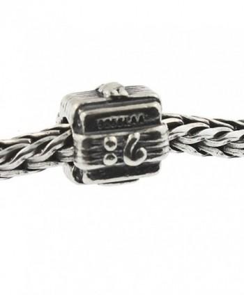 Authentic Trollbeads Sterling Silver 11109 Music Box - CE12JBUN03P