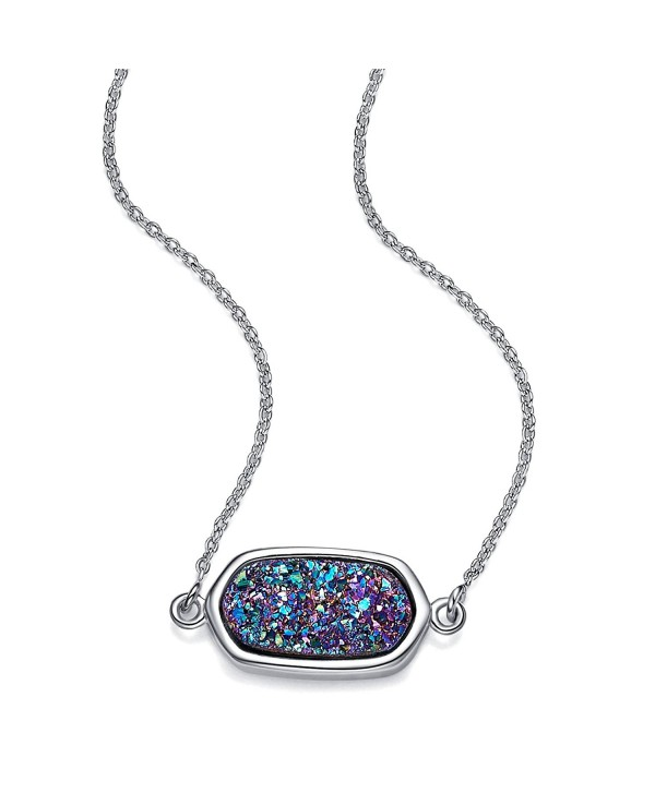 WISHMISS Necklace Gemstone Inspirational Extender - C81867X0Y5L