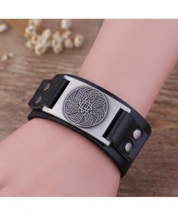 Wristband Adjustable Leather Bracelets Vintage