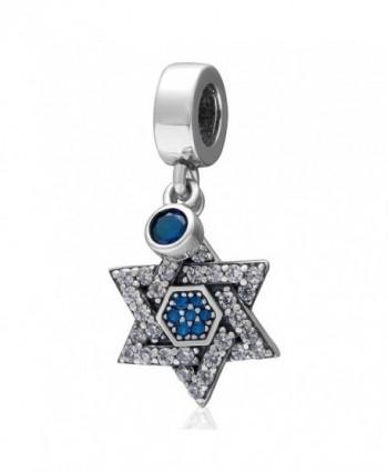 Jewelry Sterling Hexagram Triangle European - CB12L51ZBRV