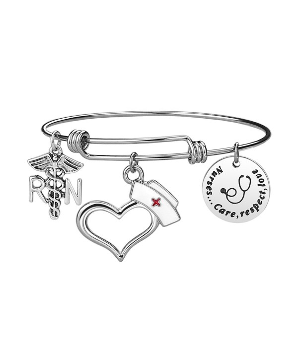 Nurse Bangle Bracelet Gifts Expendable - Nurse Bracelet - CM1884Q988G