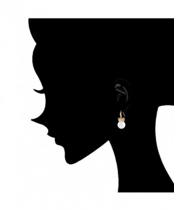 Simulated Zirconia Accented Earrings 12 12 5 - CS11O3NK72X
