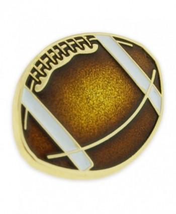 PinMarts Football Sports Enamel lapel
