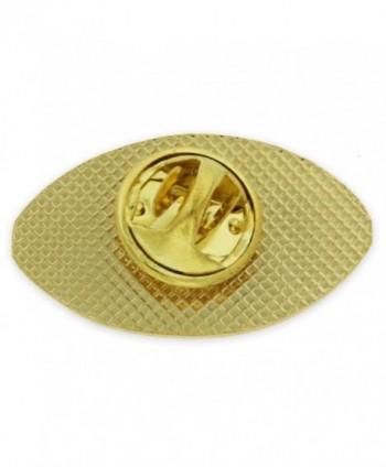 PinMarts Football Sports Enamel lapel in Women's Brooches & Pins