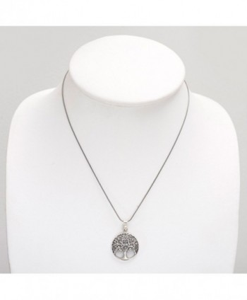 Oxidized Sterling Filigree Ancient Necklace in Women's Pendants