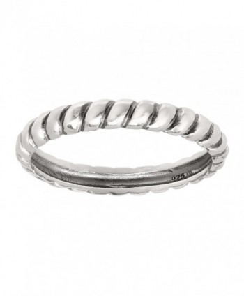 Silpada 'Belle Fleur' Sterling Silver Stack Ring - CA12NGIDEOB