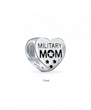 Bling Jewelry Patriotic Military Stering