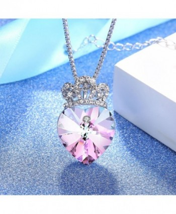 Angelady Pendant Necklace Girlfriend Swarovski