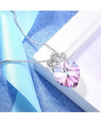 Angelady Pendant Necklace Girlfriend Swarovski in Women's Pendants