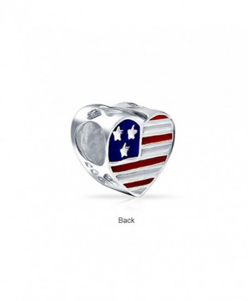 Bling Jewelry Patriotic Military Stering in Women's Charms & Charm Bracelets