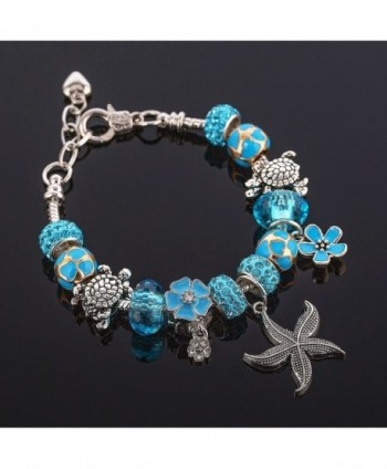 Ocean Beaded Bracelets Friends Adjustable
