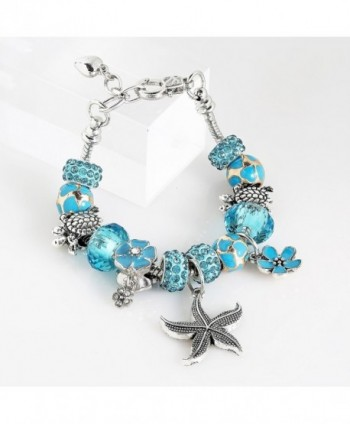 Ocean Beaded Bracelets Friends Adjustable in Women's Charms & Charm Bracelets