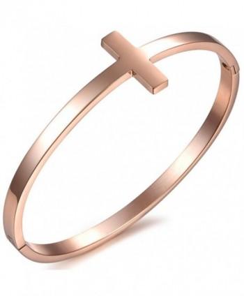 Oidea Polished Stainless Bracelet Birthday - Rosegold - C31884NZZA9