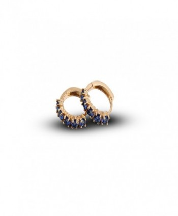YAZILIND Charming Plated Zirconia Earrings