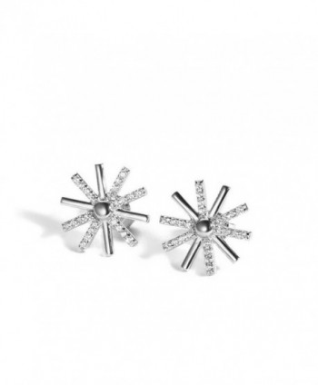 KOREA JIAEN Flower Earrings Sterling earrings - Sun Flower Earrings - CK12JUEHLBT