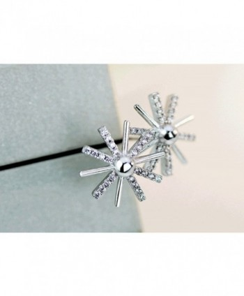103d70729 ... KOREA JIAEN Flower Earrings Sterling earrings in Women's Jewelry Sets