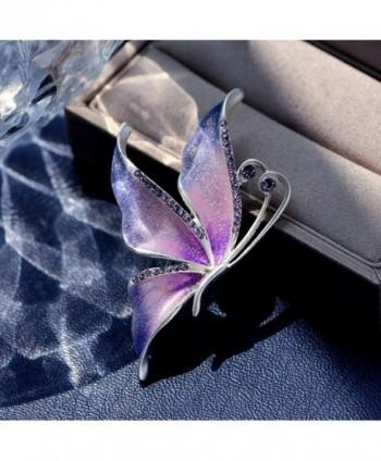 Butterfly Swarovski Crystal Rhinestones Jewelry in Women's Brooches & Pins