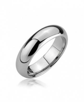 Bling Jewelry Comfort Fit Unisex Tungsten Wedding Band 5mm - CB115NUH8EZ