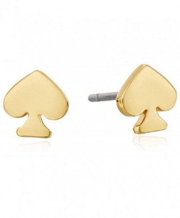 Kate Spade New York Womens Signature Spade Mini Studs Earrings - Gold - CY11NGHGEAF