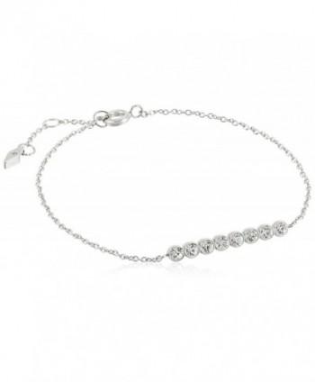 Fossil Womens Vintage Glitz Line Bracelet - Silver - C812O3J08U4