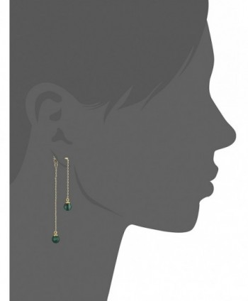 Jewelry Precious Sphere front back Earrings