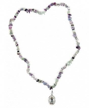 Goddess Miracles Fluorite Bracelet Necklace