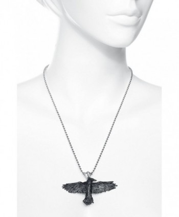 Black Raven Alchemy Gothic Necklace in Women's Pendants
