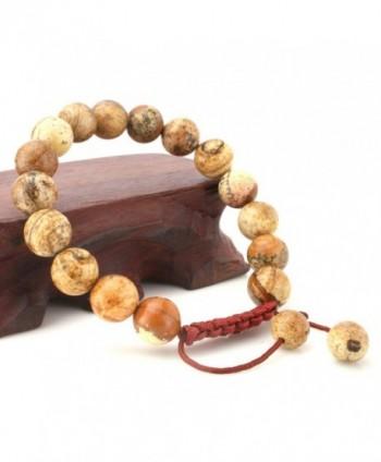 JewelrieShop Adjustable Synthetic Birthstones Bracelets
