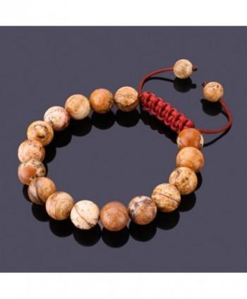 JewelrieShop Adjustable Synthetic Birthstones Bracelets in Women's Strand Bracelets