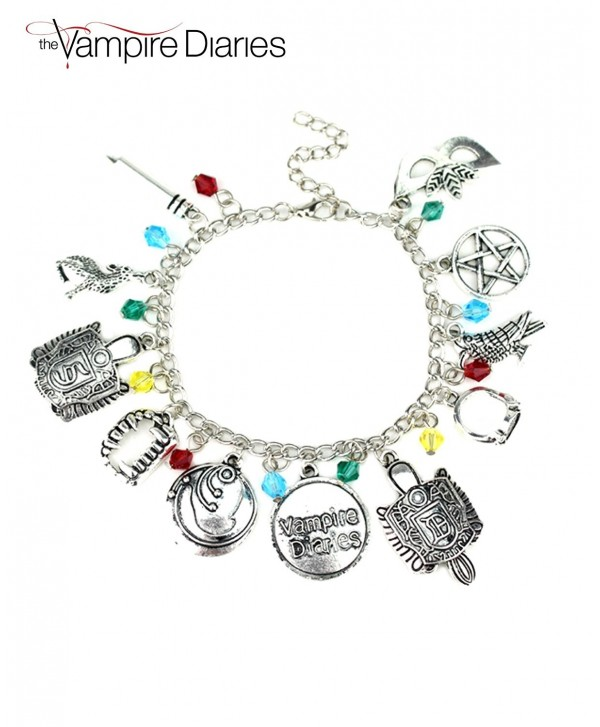 Athena Vampire Diaries Charm Lobster Clasp Bracelet Gift Box Included - CF12NSCL9GL