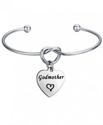 FEELMEM Godmother Bracelet Godmothers Charm Silver - Silver Godmother - CW188SWTYTG