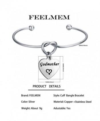 FEELMEM Godmother Bracelet Godmothers Charm Silver